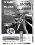 Sharp DV-720S Specifications
