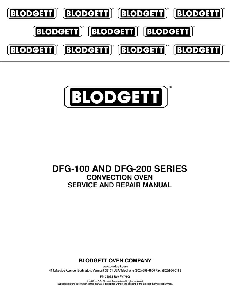 blodgett dfg 100 repair manual blodgett oven wiring diagram blodgett oven wiring diagram #20