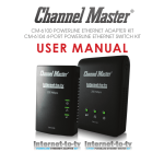 Channel Master CM-6100 User manual