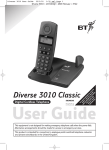 BT 3010 Classic User guide