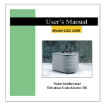 Cypress CSC-5300 User`s manual