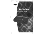Belkin F1D088 - OmniView Monitor Extender Repeater User manual