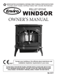 envire windsor Owner`s manual