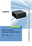 Siemens MC35 Specifications