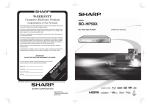 Sharp BD-HP50X Specifications