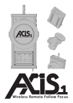 Axis 1 Operating instructions