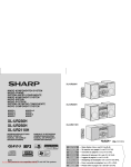 Sharp XL-UR250H Specifications