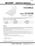 Daewoo DR-4700P Service manual