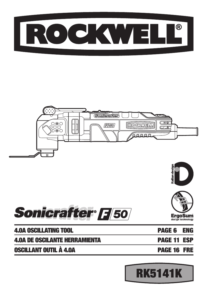 Sonicrafter Manual Ebook