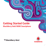 Blackberry 9000 - Bold User guide