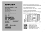 Sharp CD-BA2600H Specifications