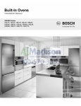 Bosch HBL55 Installation manual