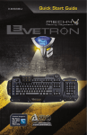 Azio LEVETRON MECH4 KB588U User guide
