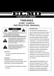 Elmo TND4004 Instruction manual