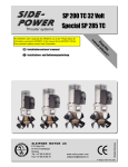 Side-Power SP 155 TC i User`s manual