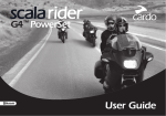 Cardo Systems SCALA RIDER G4 POWERSET User guide