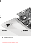 Bosch SGS 45N68 Specifications