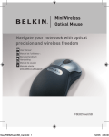 Belkin F8E825-USB User manual