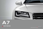 Audi A7 Technical data