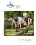 Aquascape Pro 7500 Owner`s manual