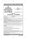 Emerson CF4600WB00 Owner`s manual