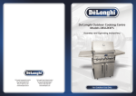 DeLonghi WIR2 LP GAS Operating instructions