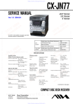 Aiwa JAX-N77 Specifications