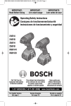 Bosch 25614 Specifications