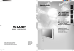 Sharp LC-M3710 Operating instructions