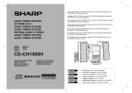 Sharp CD-CH1500H Specifications