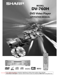 Sharp DV-760H Specifications