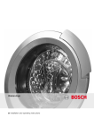 Bosch WKD28350GB Installation Instructions, Instructions for Use, Programme Table Operating instructions