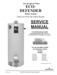 Ultra Defender II Service manual