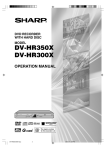 Sharp DV-HR300X Specifications