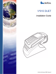 VeriFone Vx810 Duet Installation guide