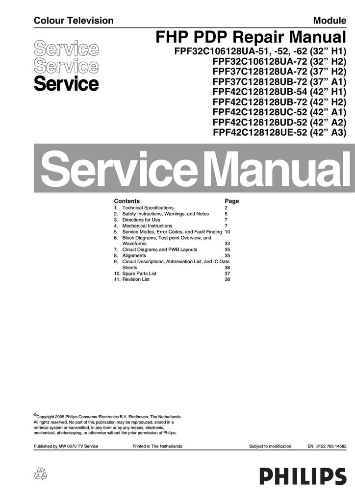 Philips 42fd9954 Repair Manual 2005 Lg 50 Inch Plasma Tv Screen Circuit Boards In Back Of
