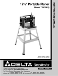Delta TP400LS Instruction manual