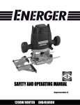 Energer ENB468ROU Instruction manual
