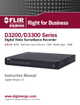 Digital ID View 960H Series Instruction manual