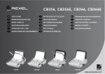 ACCO Brands Rexel CB356 User guide