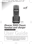 BT 3000 Classic User guide