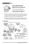 DAVIS Fan-Aspirated Radiation Shield Installation manual