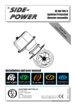 Side-Power SE 60/185 S User manual