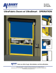 UltraFabric Doors w/ UltraSmart OPERATION