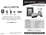 ACU-RITE 01514 Instruction manual