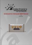 Airelectronics U-Ground User manual