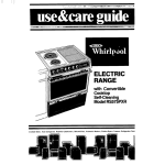 Whirlpool RS575PXR Use & care guide