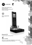 Motorola DIGITAL WIRELESS TELEPHONE User guide