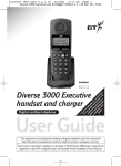 BT 3000 Executive User guide