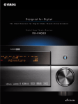 Yamaha RX-V4600 - AV Receiver Specifications